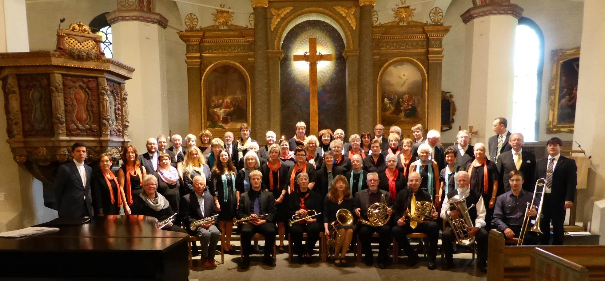Konzert im Rahmen der Städtepartnerschaft Espelkamp - Borås